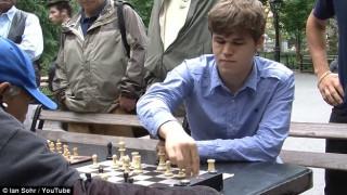 Παίζοντας σκάκι με τον παγκόσμιο πρωταθλητή...χωρίς να το ξέρεις (vid)