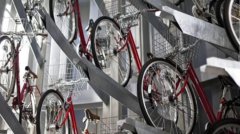 Ιαπωνία: Yπόγεια... θησαυροφυλάκια ποδηλάτων