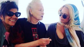 Vivienne Westwood, Πάμελα Άντερσον & Juergen Teller στην Ύδρα της τέχνης