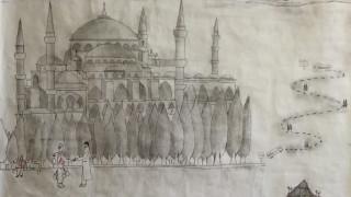 Ένας 16χρονος ασυνόδευτος πρόσφυγας συγκινεί με τις ζωγραφιές του (pics)