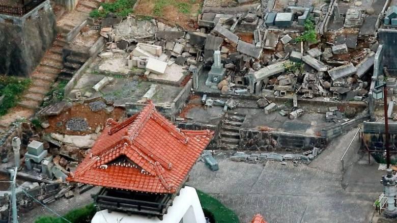 Ιαπωνία: Τραυματίες άφησε πίσω του ο σεισμός των 6,6R