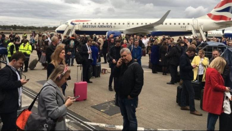 Συναγερμός στο αεροδρόμιο London City - Τι μεταδίδει ο Μιχάλης Κοσμίδης