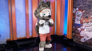 Ο λύκος Ζαμπιβάκα μασκότ του Παγκοσμίου Κυπέλλου του 2018