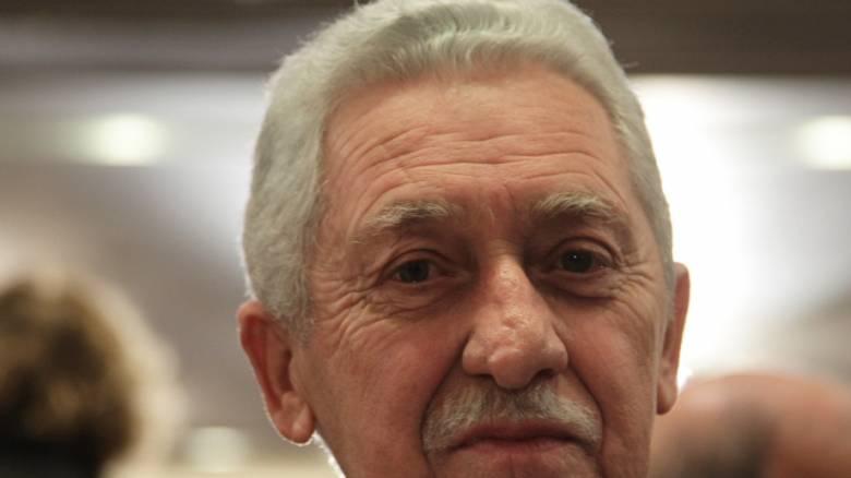 Κουβέλης: Υπέρ της συσπείρωσης με τις δυνάμεις του ΣΥΡΙΖΑ
