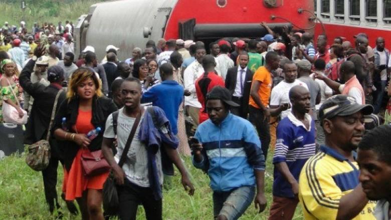 63 οι νεκροί από τον εκτροχιασμό τρένου στο Καμερούν