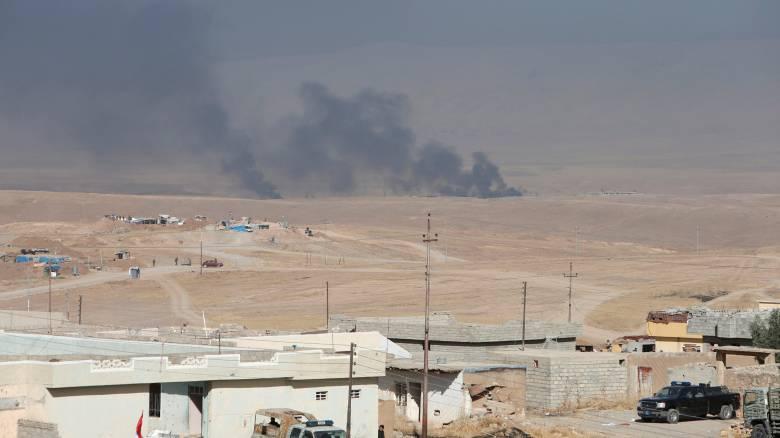 Τοξικά αέρια κοντά στη Μοσούλη - Εκατοντάδες πολίτες στο νοσοκομείο