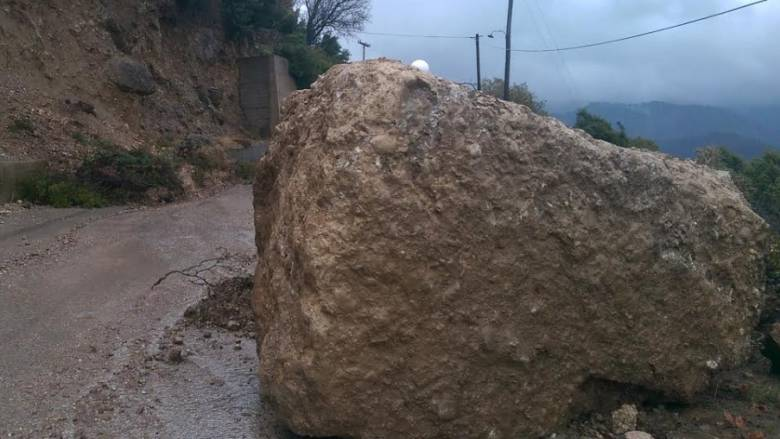 Κατολισθήσεις και πλημμύρες στην Πρέβεζα