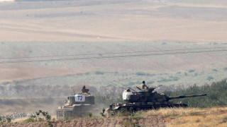 Τουρκικές ένοπλες δυνάμεις έπληξαν στόχους Κούρδων πολιτοφυλάκων εντός Συριακού εδάφους
