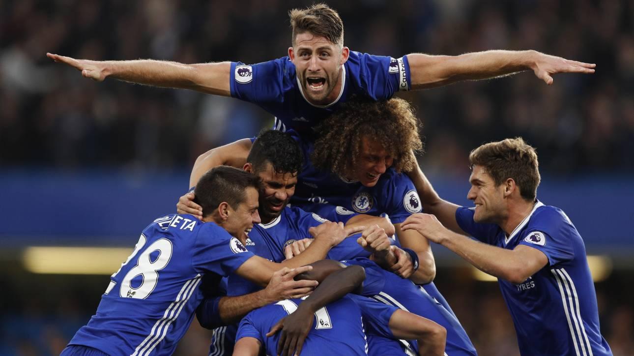 Premier League: 4 γκολ η Τσέλσι στην Γιουνάιτεντ, γκέλα και η Σίτυ