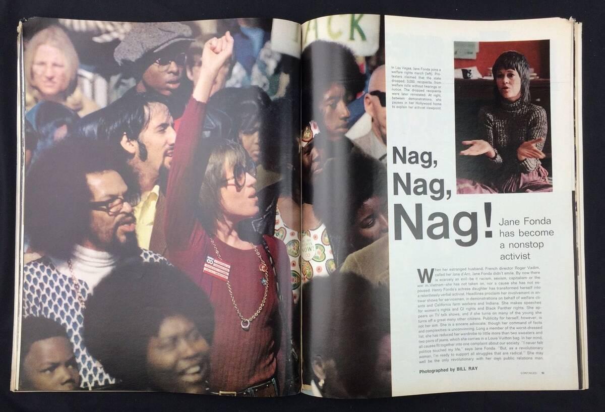 LIFE Magazine April 23 1971 Jane Fonda Busy 57