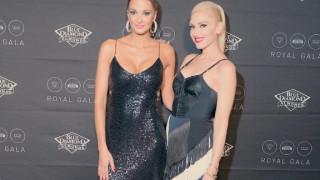 Η Γκουέν Στεφάνι είναι η φίλη της Αλέκας Καμηλά στο λαμπερό gala των Sacramento Kings