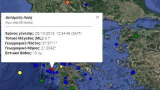 Ασθενής σεισμός κοντά στην Κυλλήνη
