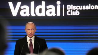 Πούτιν: Υστερία στις ΗΠΑ οι ισχυρισμοί για ρωσική παρέμβαση στις προεδρικές εκλογές