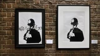 O αιρετικός καλλιτέχνης των δρόμων Banksy «βανδαλίζει» τη Μελβούρνη