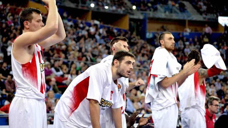 Euroleague: μεγάλη νίκη του Ολυμπιακού επί της Μπασκόνια με σούπερ Σπανούλη
