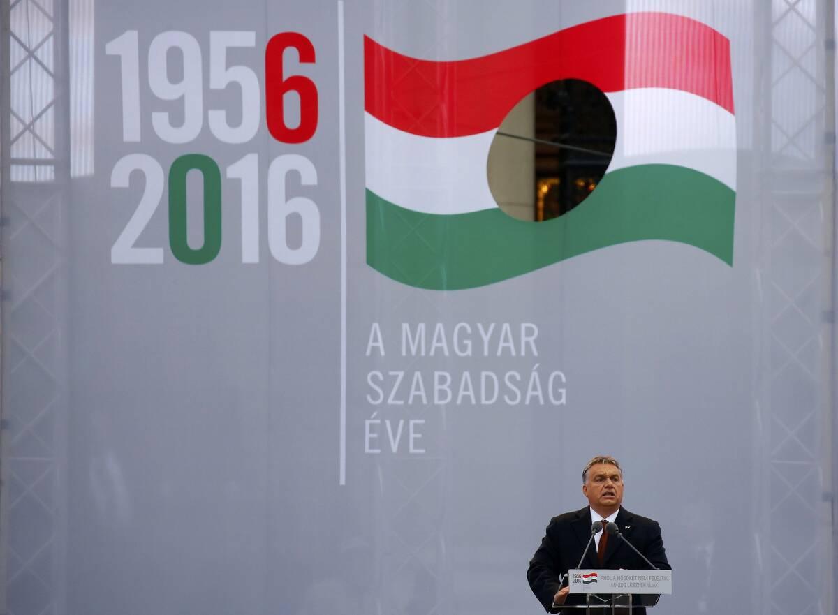 Orban anniversary 2016 10 23T142347Z 1133615496 LR1ECAN13ZD6H RTRMADP 3 HUNGARY ORBAN