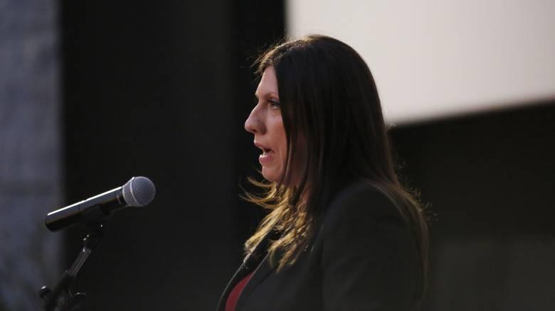 Το tweet της Ζωής Κωνσταντοπούλου για την υποψηφιότητα Πολύδωρα για το ΕΣΡ