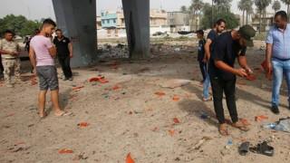Βαγδάτη: Επίθεση σε κεντρική αγορά με παγιδευμένο αυτοκίνητο