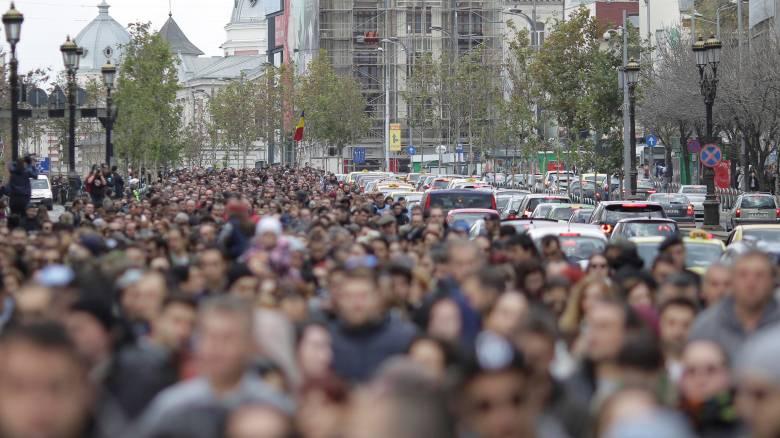 Ρουμανία: Διαδηλώσεις κατά της διαφθοράς στην πρώτη επέτειο από την τραγωδία του Colectiv