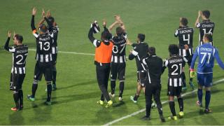 Super League: με γκολ στις καθυστερήσεις ο ΠΑΟΚ κέρδισε την ΑΕΚ στο ντέρμπυ των Δικεφάλων