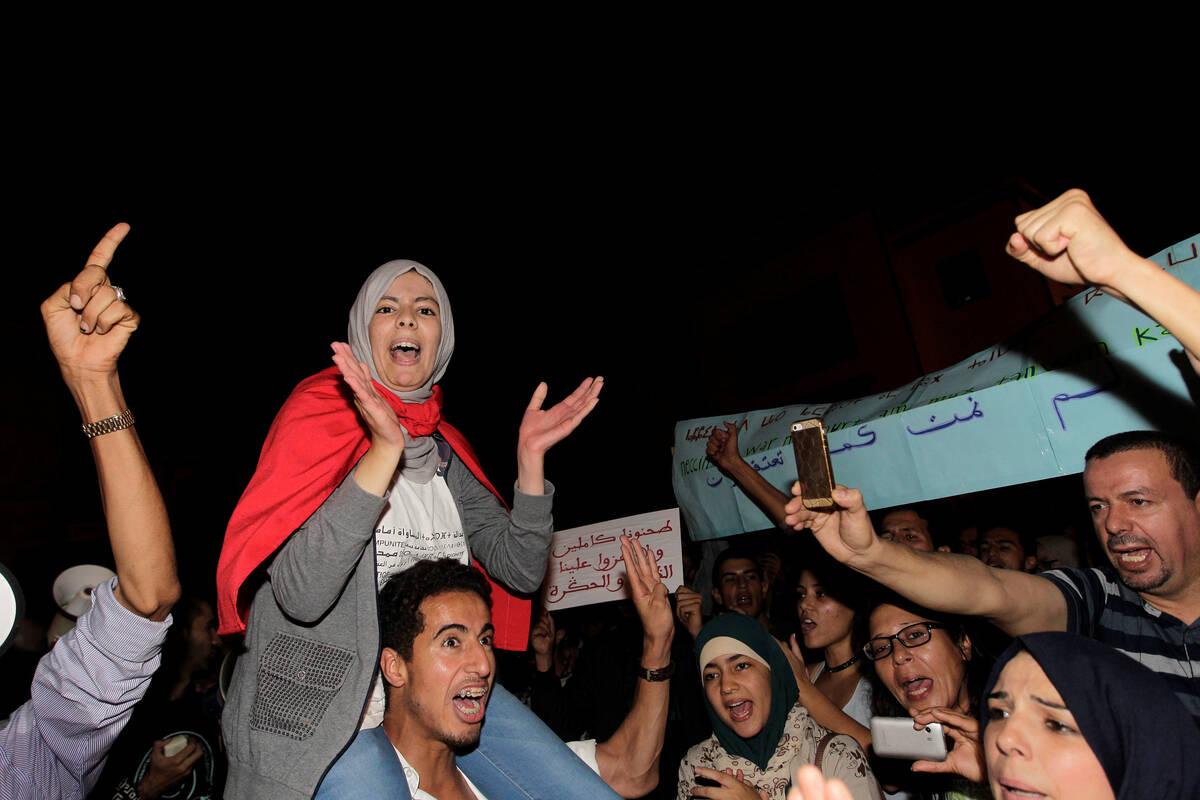 Morocco protests 2016 10 30T200425Z 1640143443 S1BEUJZWHDAB RTRMADP 3 MOROCCO PROTEST