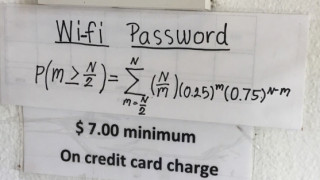 Θέλεις να μπεις στο WiFi; Λύσε μια εξίσωση