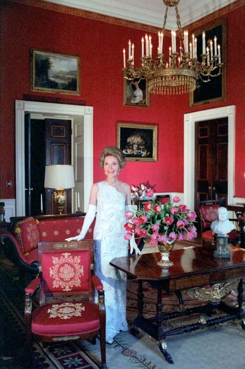 Nancy Reagan Red Room 1981