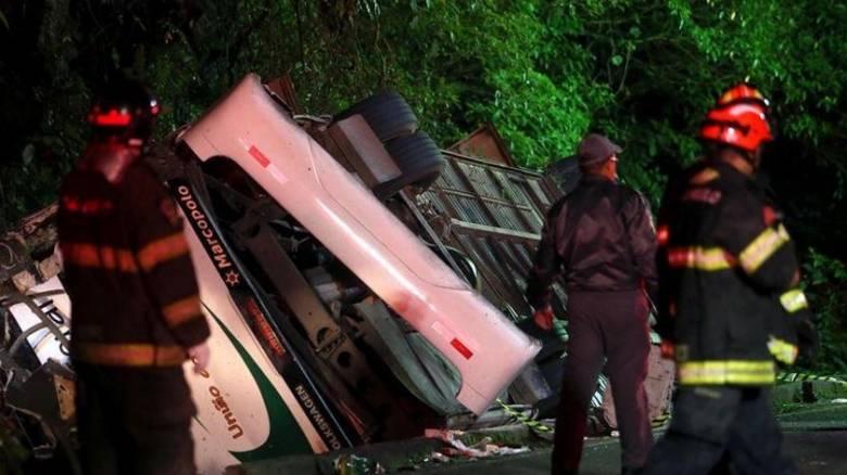 Βραζιλία: Δεκάδες νεκροί και τραυματίες σε σύγκρουση λεωφορείου με βυτιοφόρο