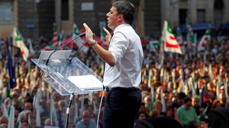 Τα σχέδια του Μ. Ρέντσι για την Ιταλία μετά το χτύπημα του Εγκέλαδου
