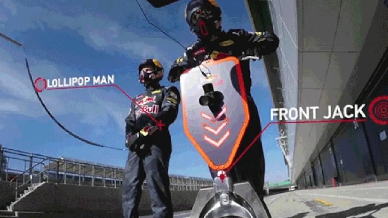 Τι πραγματικά συμβαίνει σε ένα Pit Stop της Formula 1