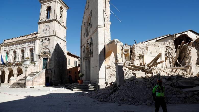 Σεισμός Ιταλία: Το έδαφος μετακινήθηκε κατά 70 εκατοστά εξαιτίας των δονήσεων