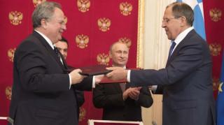 Διμερείς σχέσεις και Κυπριακό στη συνάντηση Κοτζιά - Λαβρόφ