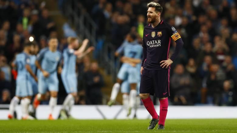 Champions League: αγκαλιά με την πρόκριση η Σίτυ μετά τη νίκη επί της Μπαρστελόνα