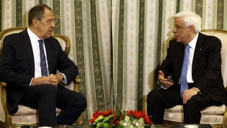 Παυλόπουλος στον Λαβρόφ: Δεν θα ανεχθούμε μειώσεις στην κυριαρχία της Κύπρου