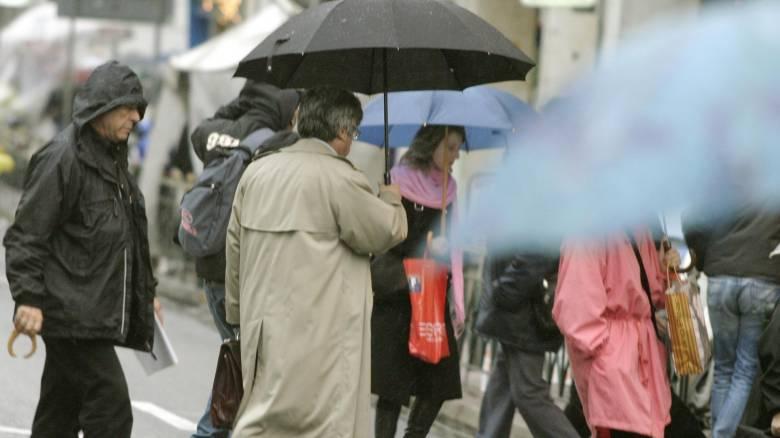Καιρός: Νεφώσεις και καταιγίδες την Πέμπτη