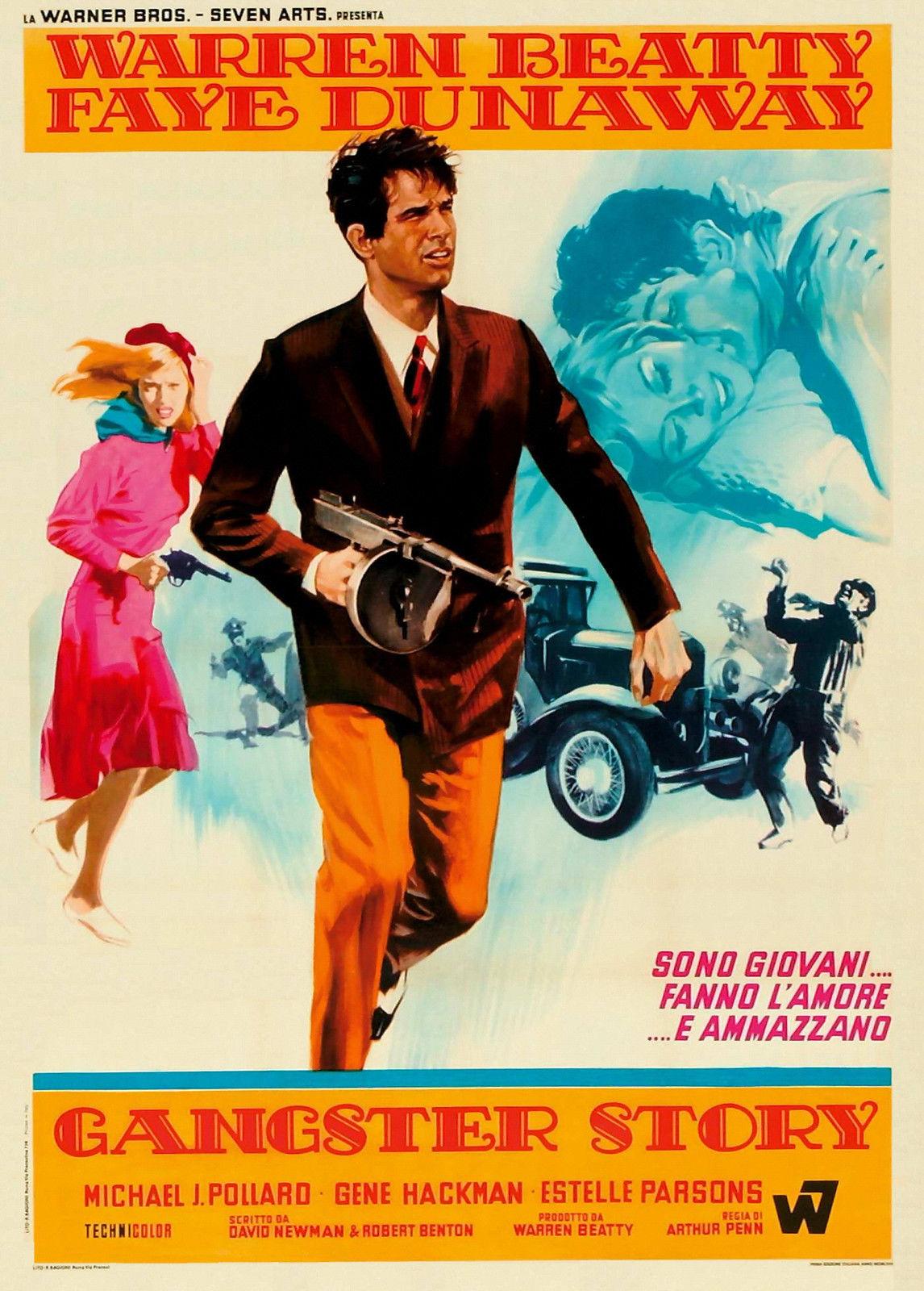 BONNIE AND CLYDE font b Movie b font font b Poster b font 1967 Warren Beatty