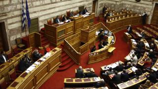 Ένταση και υψηλοί τόνοι στη Βουλή