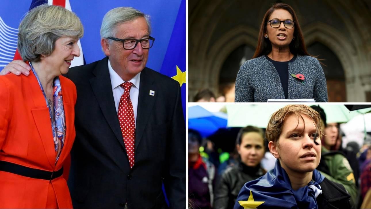 Τερέζα Μέι: Δεν θα εκτροχιάσει το Brexit η δικαστική απόφαση