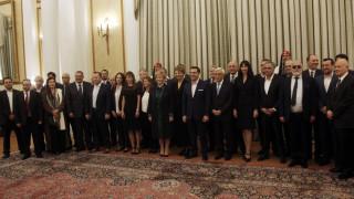 Το πρόγραμμα της παράδοσης-παραλαβής των υπουργείων