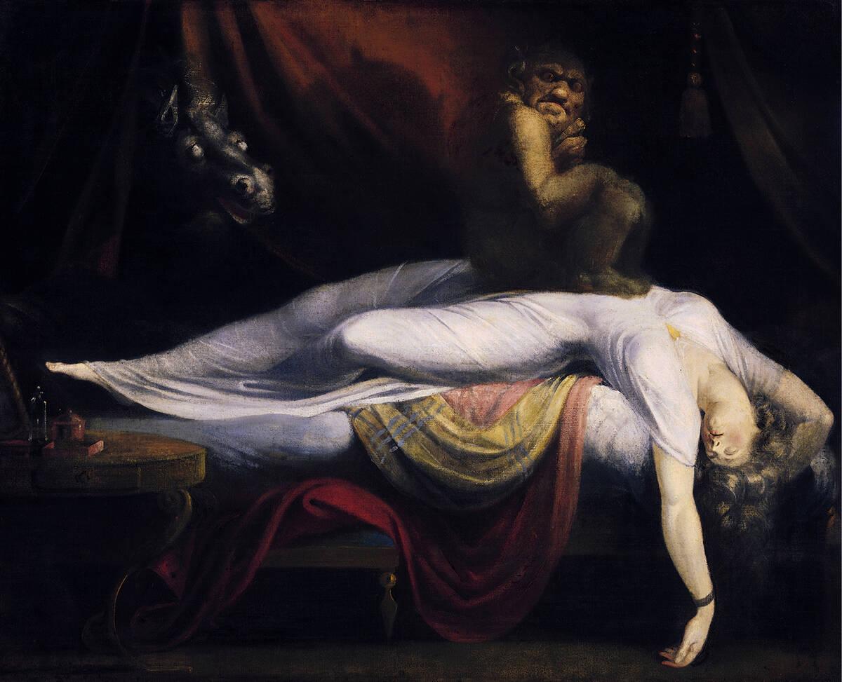 John Henry Fuseli The Nightmare