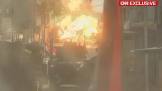Αποκλειστικό: Η στιγμή που η αποστολή του CNN στη Μοσούλη γίνεται στόχος των τζιχαντιστών