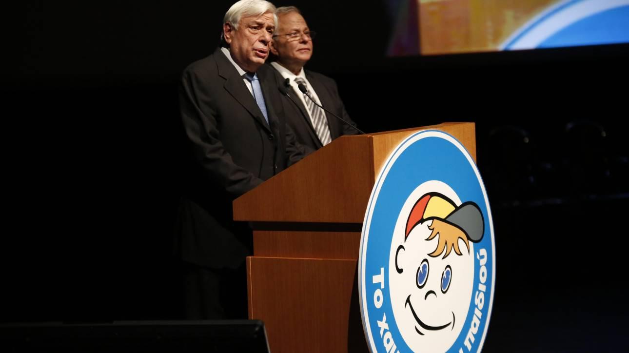 Τα 21 χρόνια του γιόρτασε το «Χαμόγελο του Παιδιού» παρουσία του Πρ. Παυλόπουλου