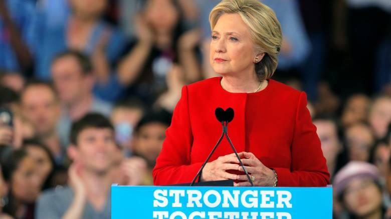 Εκλογές ΗΠΑ 2016: Θα είμαι πρόεδρος για όλους τους Αμερικανούς, είπε η Κλίντον από τη Β. Καρολίνα