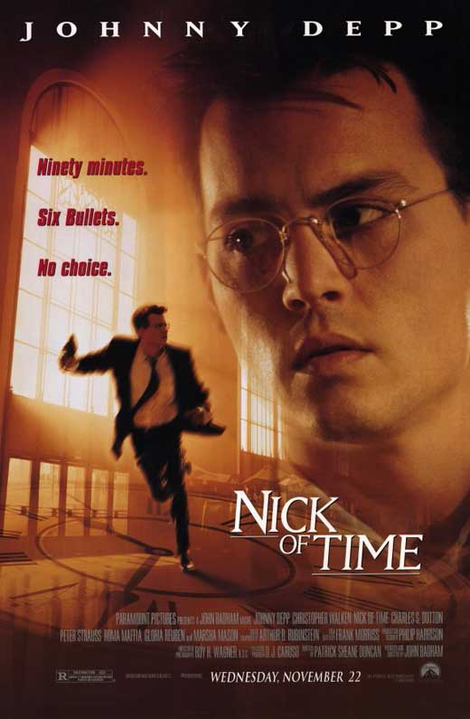 nick of time movie poster 1995 1020196086