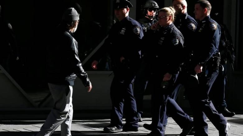 Εκλογές ΗΠΑ 2016: Υπό τη μεγαλύτερη αστυνομική παρουσία στην ιστορία της η Νέα Υόρκη