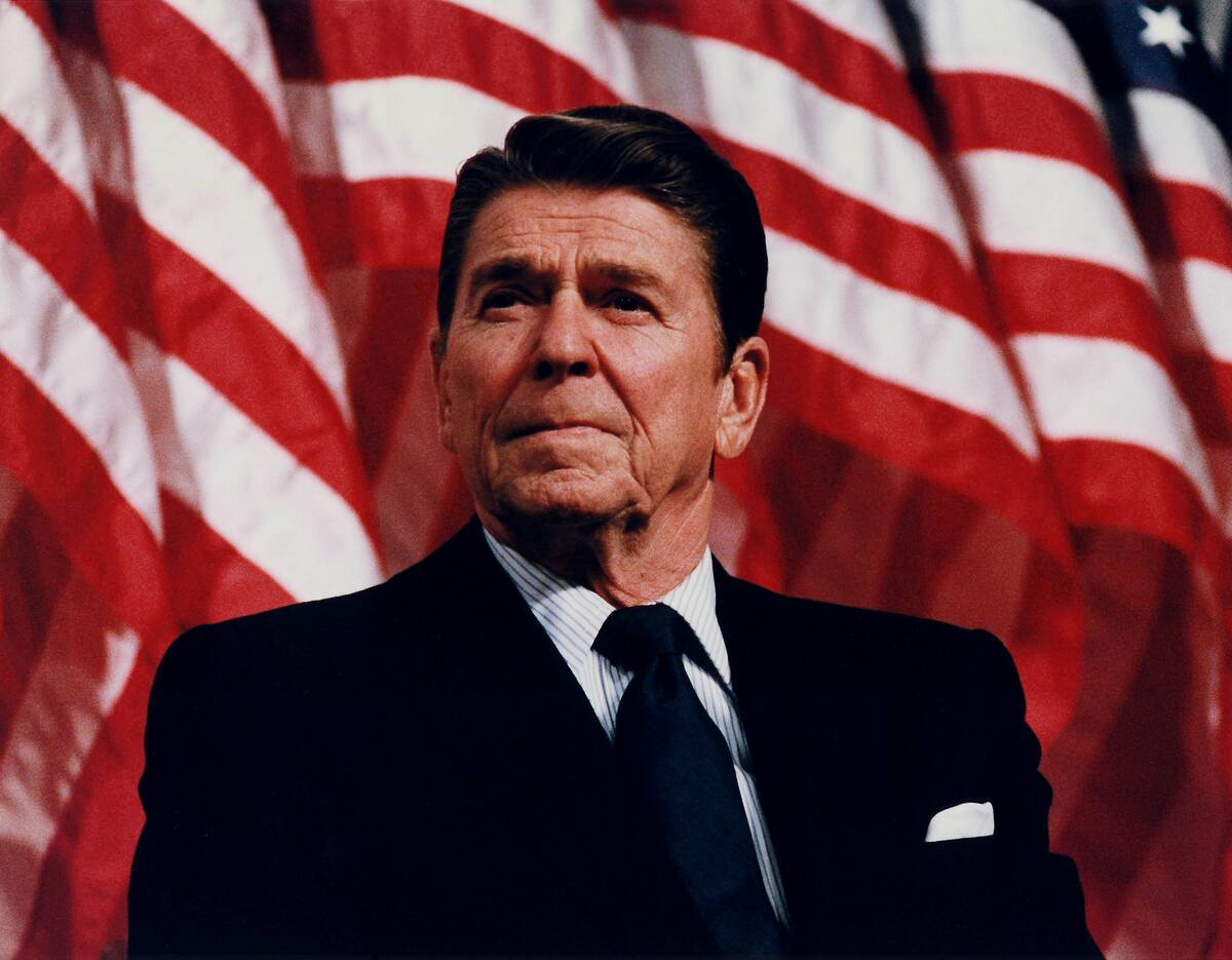 President Reagan speaking in Minneapolis 1982 copy