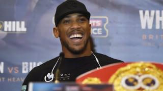 Ο παγκόσμιος πρωταθλητής της πυγμαχίας Άντονι Τζόσουα προετοιμάζεται να υπερασπιστεί τον τίτλο του