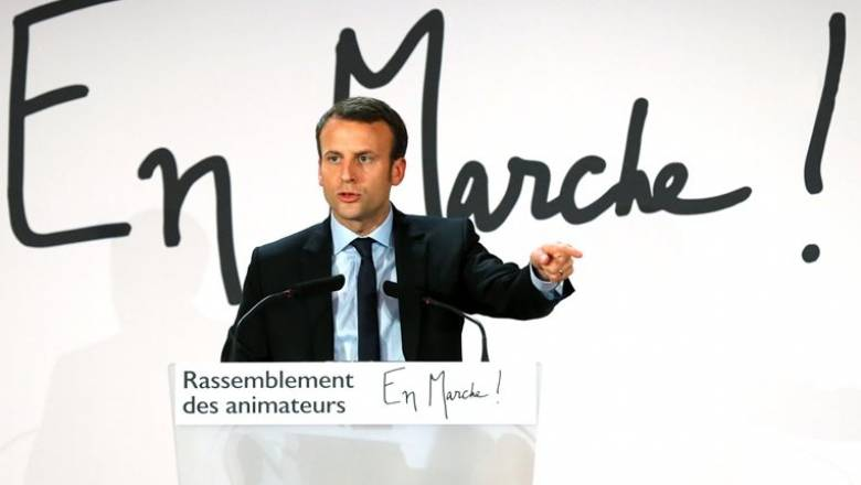 Γαλλία: Υποψήφιος στις προεδρικές εκλογές ο Εμανουέλ Μακρόν