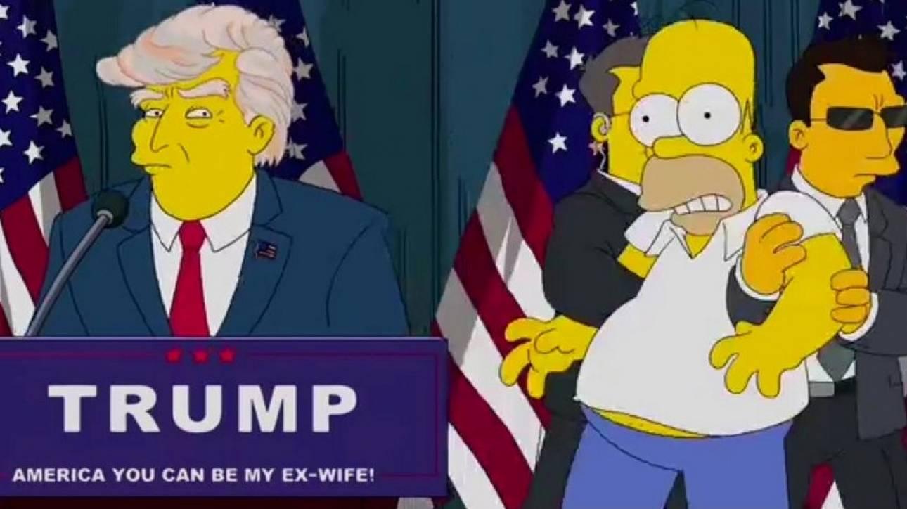 16 χρόνια πριν οι The Simpsons πρόβλεψαν την προεδρία του Ντόναλντ Τραμπ