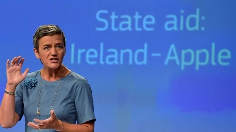 Η Ιρλανδία δεν θέλει να εισπράξει 13 δισ. ευρώ από την Apple